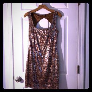 Leopard cheetah sequence Cachè dress